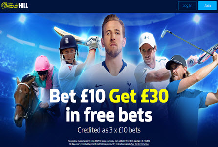 Betting Online William Hill