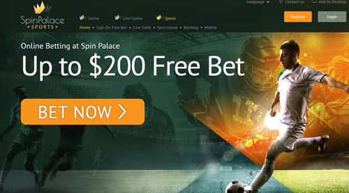 Spin Palace Sportsbook