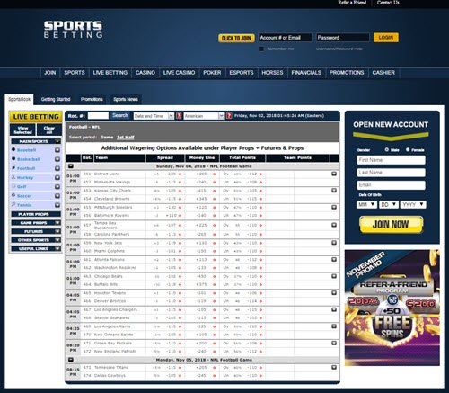 Sports Betting Online ag
