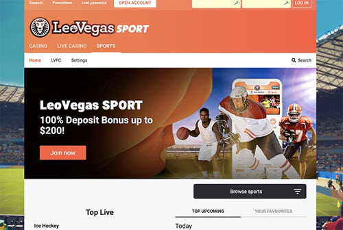 Leovegas Sportsbook