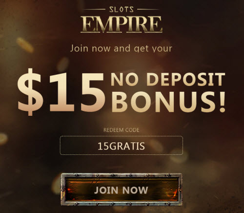 Slots Empire No Deposit Bonus! Slots Empire Casino Codes! 1