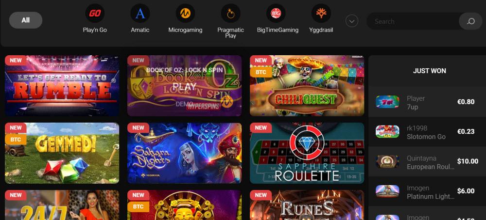 Casino Chan Games