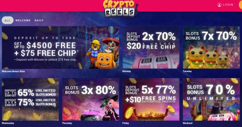Crypto Reels Casino 1