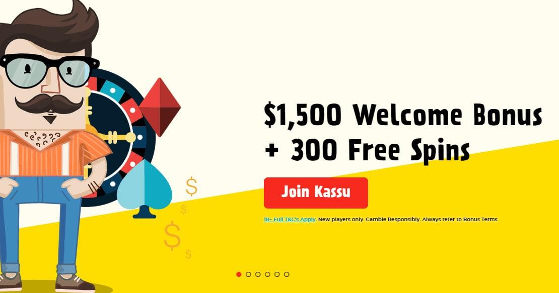 Kassu Casino no deposit bonus 1