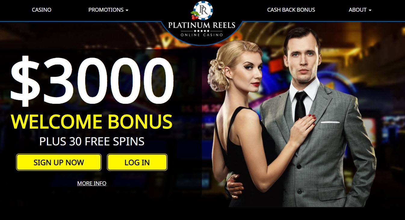 platinum casino bonus