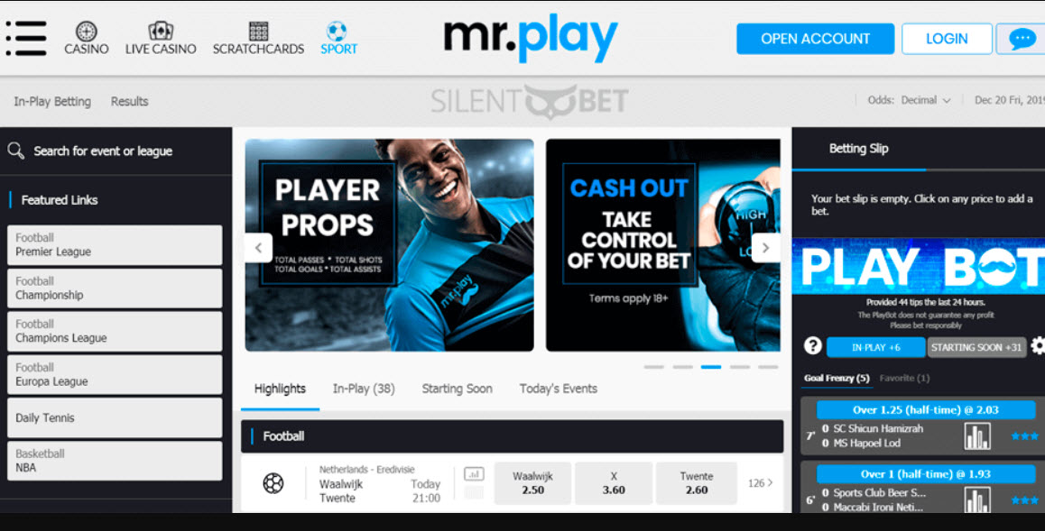 Mr.play Sportsbook betting review